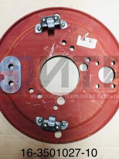 Щит переднего тормоза со скобой (под диск 19,5'' ПАЗ 3204-03 пригородный) 16-3501027-10